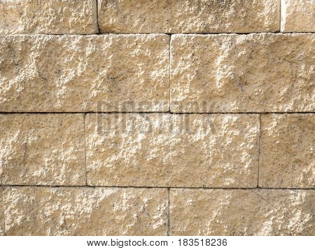 Stone Wall background block and vintage style