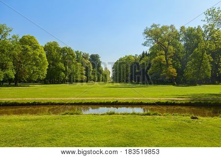 Park View In The City Of Monza