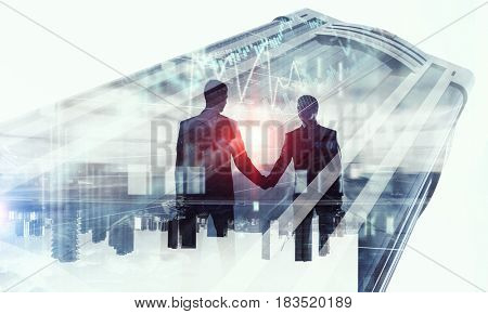 Merging with big business