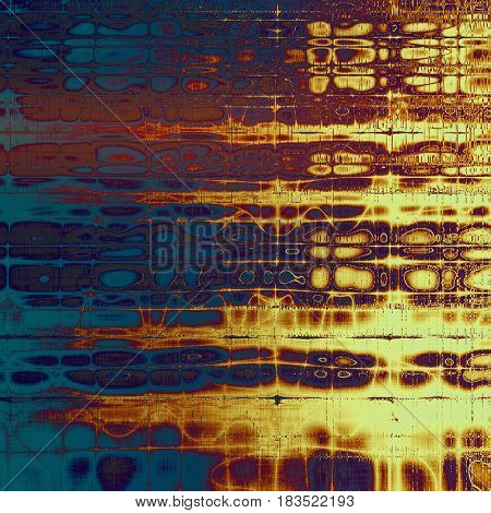 Old, grunge background or ancient texture. With different color patterns: yellow (beige); brown; pink; blue; red (orange); purple (violet)