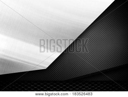 metal plate design background