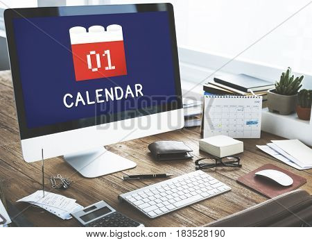 Calendar Agenda Diary Event Planner