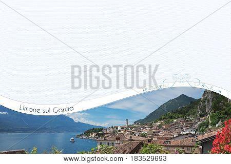 Limone Sul Garda - Design With Copy Space