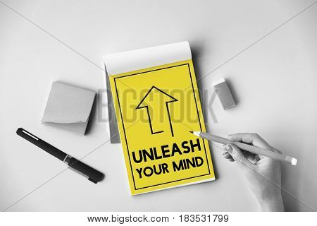 Unleash Inspiration Imagination Creativity Thoughts