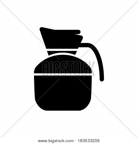 Water, jug, glass icon vector image. Can also be used for food iconset. Suitable for use on web apps, mobile apps and print media. Eps 10