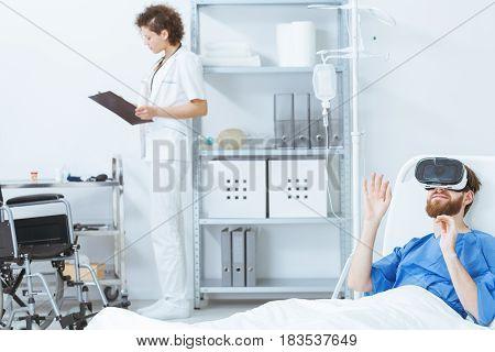 Virtual Rehabilitation At Psychiatric Clinic
