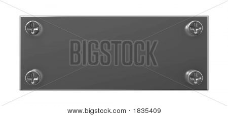 Grey Metallic Tablet