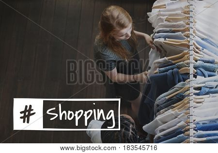 Shopping Purchasing Buying Selling Trade