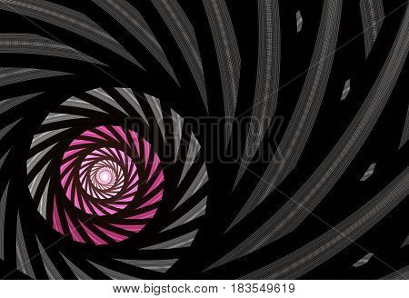 Abstract color dynamic background with lighting effect. Futuristic bright painting texture for creativity graphic design. Pattern for wallpaper poster cover booklet flyer banner. Fractal art