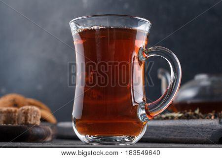 Cup Of Tea Macro Still Life