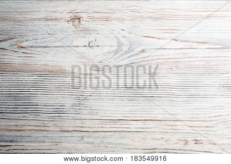 White old wooden texture background. Closeup view