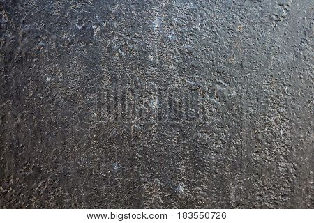 Black metal corroded texture background for designers