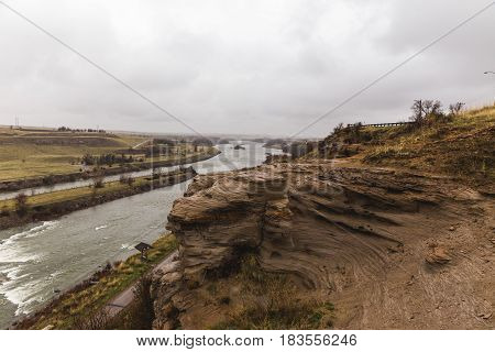 Cliffs Of The Missouri River