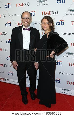 Chair of The Democratic National Committee Tom Perez (L) and Amalia Perez attend the Time 100 Gala at Frederick P. Rose Hall on April 25, 2017 in New York City.