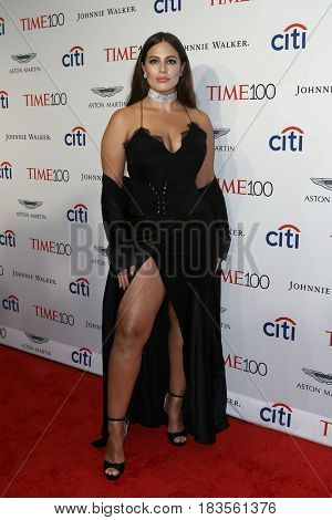 Ashley Graham attends the Time 100 Gala at Frederick P. Rose Hall on April 25, 2017 in New York City.