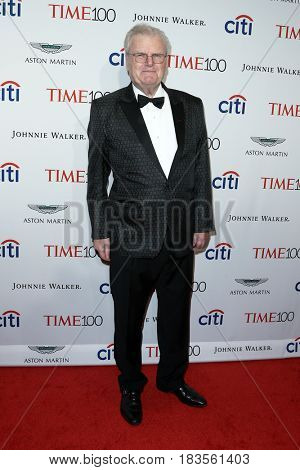 Sir Howard Stringer attends the Time 100 Gala at Frederick P. Rose Hall on April 25, 2017 in New York City.