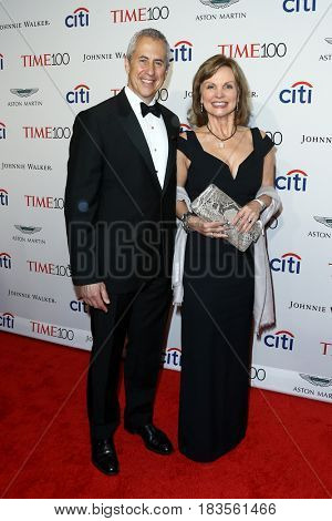 Danny Meyer (L) and Audrey Meyer attend the Time 100 Gala at Frederick P. Rose Hall on April 25, 2017 in New York City.