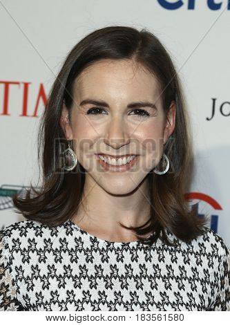 Callie Schweitzer attends the Time 100 Gala at Frederick P. Rose Hall on April 25, 2017 in New York City.
