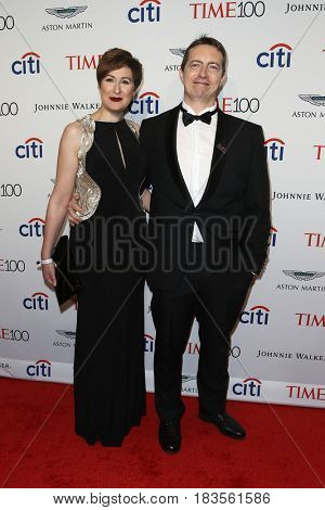 Wendy Cino (L) and Michael Gillon attend the Time 100 Gala at Frederick P. Rose Hall on April 25, 2017 in New York City.