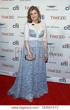 Arianna Huffington attends the Time 100 Gala at Frederick P. Rose Hall on April 25, 2017 in New York City.