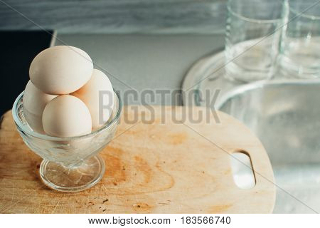 Eggs In A Saucer