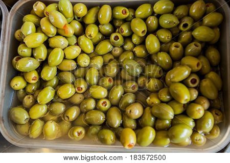 Green Olive Healthy Food