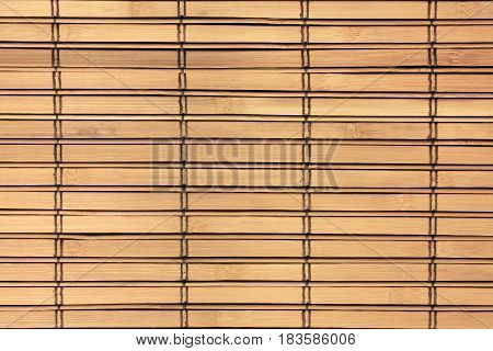 Bamboo windows shutter background wood texture pattern