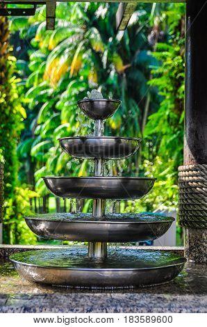Fountain In The Park In Kuala Lumpur, Malaysia