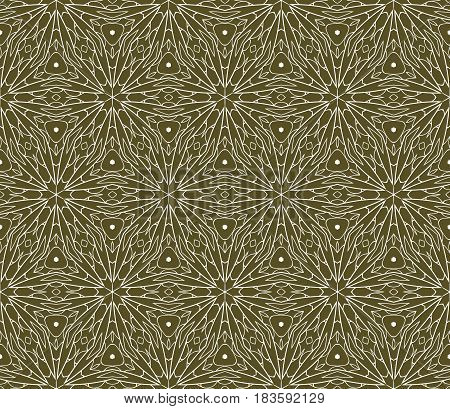 Seamless Lace Floral Background. Decorative Texture For Wallpaper, Invitation. Vector Illustration.