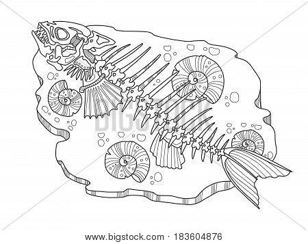 Underwater Skeleton Images Illustrations Vectors Free