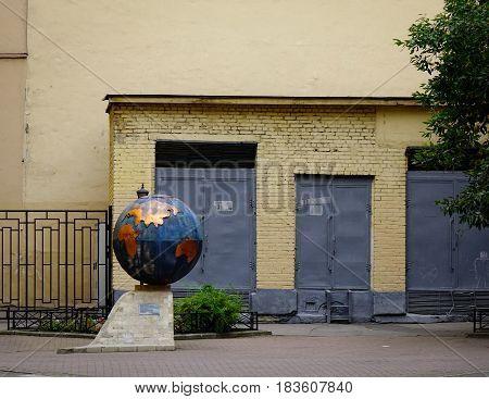 Old Buildings In Saint Petersburg, Russia