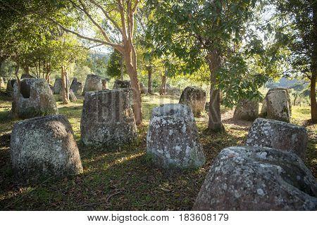 Lao Phonsavan Plain Of Jars