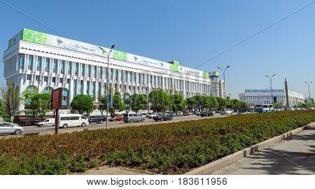 Almaty - The Republic Square