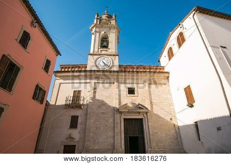 The church of San Felice in the center of Massa Martana, Umbria
