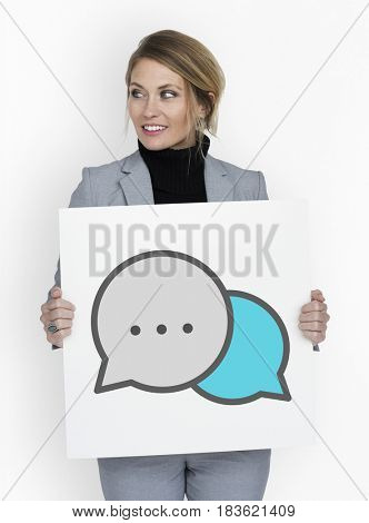 Speech Bubble Talk Conversation Graphic