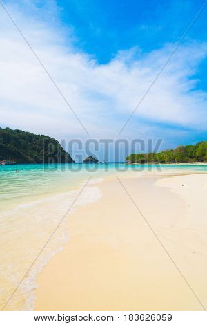 Sands of White Idyllic Place