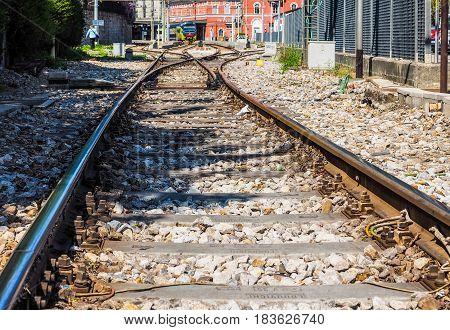 Como Nord Lago Train Station In Como (hdr)