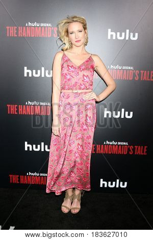 LOS ANGELES - APR 25:  Anna Camp at the Premiere Of Hulu's