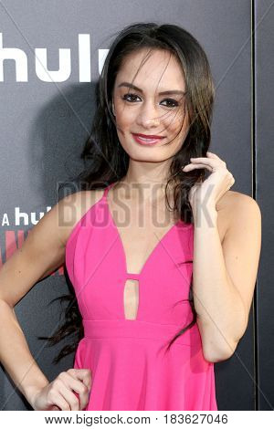 LOS ANGELES - APR 25:  Alexis Joy at the Premiere Of Hulu's
