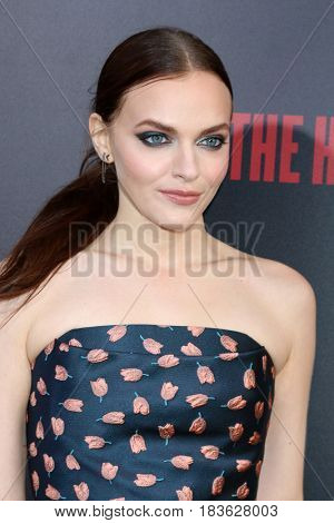 LOS ANGELES - APR 25:  Madeline Brewer at the Premiere Of Hulu's