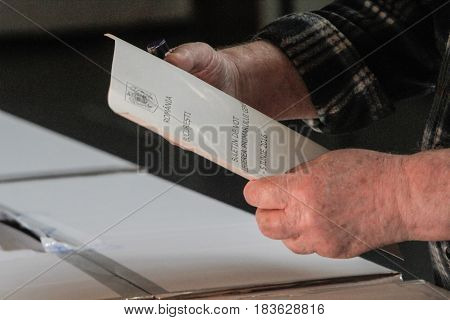 Voting-paper