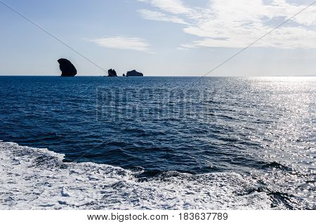 Picturesque photo of sea and sky during day