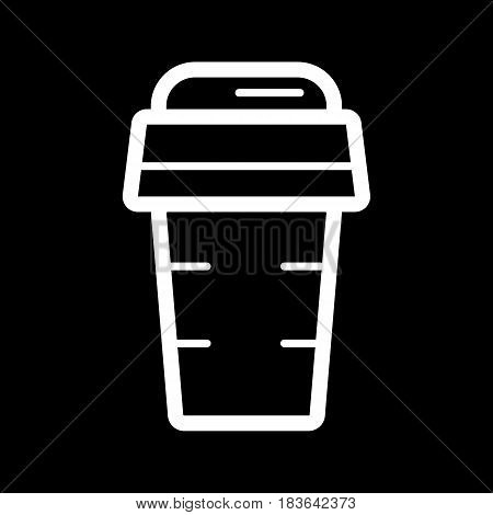 Coffee paper glass sign icon. Hot coffee button. Hot tea drink with steam. Takeaway. Coffee to go. Vector. Eps 10