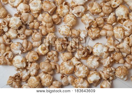 Popcorn Scattered On The Entire Frame,