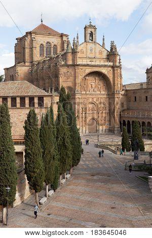 Church of San Esteban and convent, Salamanca