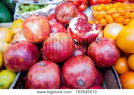 Pomegranate Fruit Grocery
