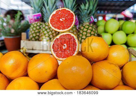 Grapefruit Healthy Food Grocery