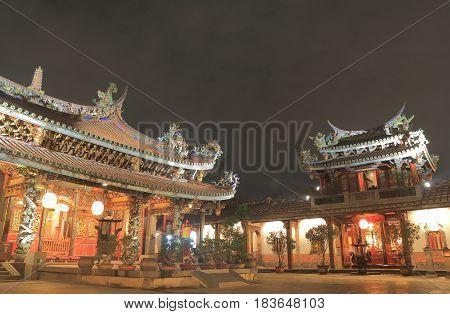 Dalongdong Baoan temple Taipei Taiwan. Dalongdong Baoan temple was originally built by clan members in Tongan, Xiamen, Fujian, who immigrated to Taipei in the early 19th century.