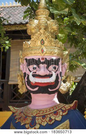 Laos Vientiane Wat Si Muang
