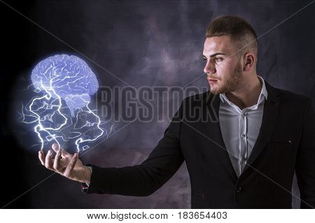 Lightning And Brain